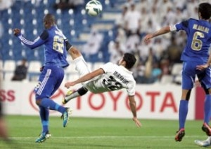 Al Khor, who have been having an impressive run in the second phase of the Qatar Stars League, held leaders Al Sadd 1-1 at the Al Khor Stadium on Sunday