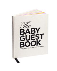 The baby guest book : för barn som klarar av att höra sanningen (inbunden)