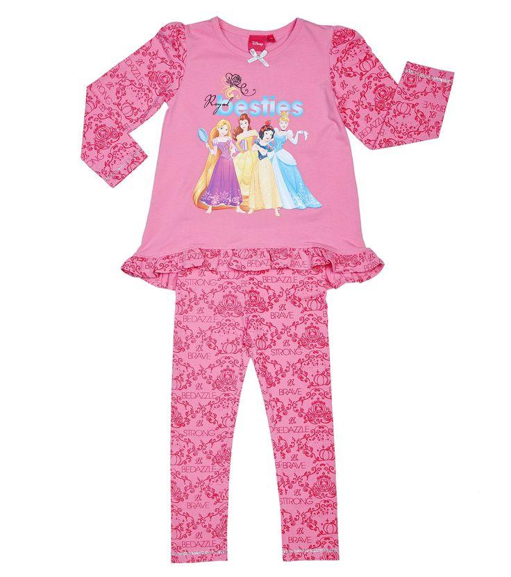 Disney Prinsessa -pyjama, vaaleanpunainen - ALE: Elektroniikka - ALE Hobby Hall