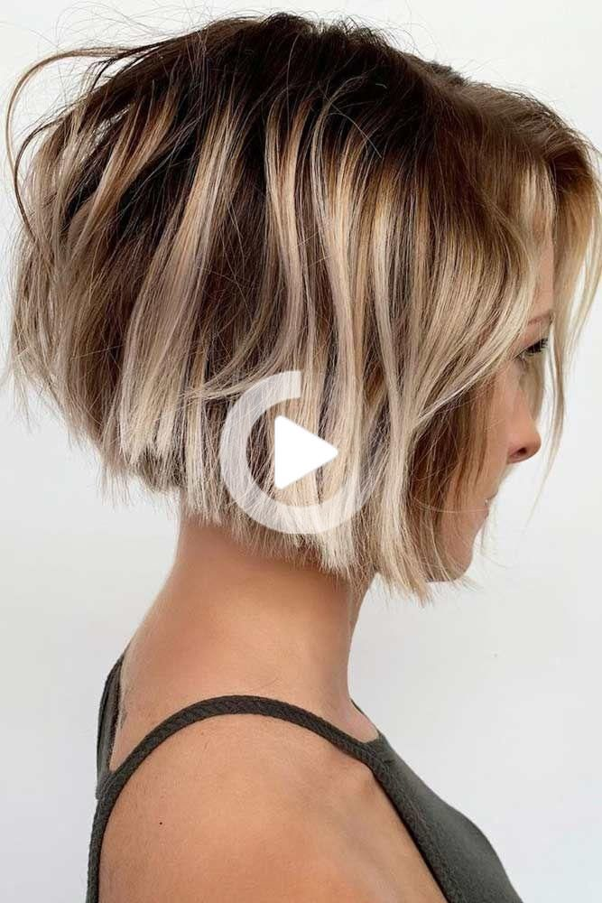 15 Beautiful Short Hairstyles For Thick Hair In 2020 Short Hairstyles For Thick Hair Thick Hair Styles Cute Hairstyles For Short Hair