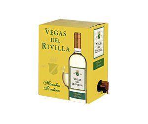 Bag In Box Vin blanc Vegas del Rivilla – Extremadure (Espagne), cubi 3L, 11,5%