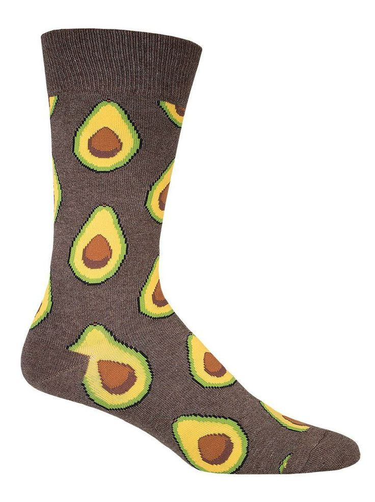 Cool Avocado Food Sock by Socksmith