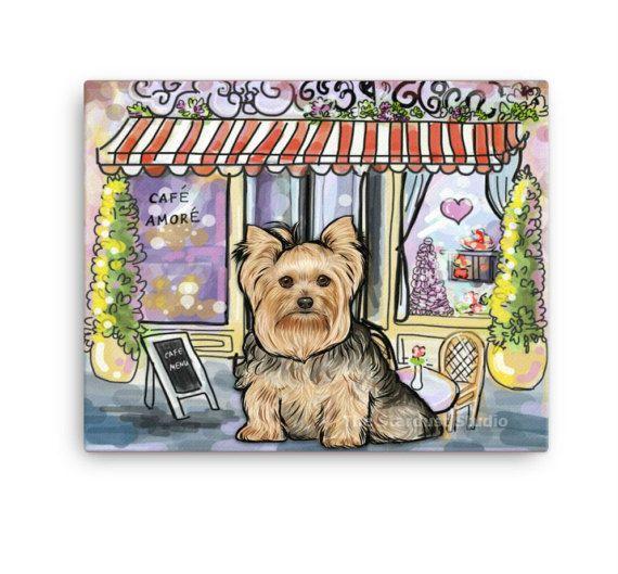 Yorkshire Terrier Art Print 8x10 inch 12x16 by TheStardustStudio