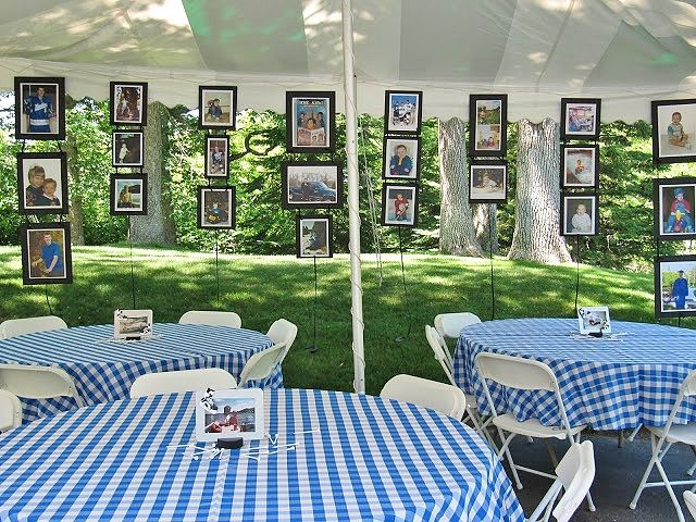 8 Of The Best Picture Display Ideas For Your Grad Party ...