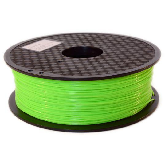 Filament PLA vert intense imprimante 3D - Filament 3D PLA couleur vert intense qualité premium - Filament PLA diamètre 1,75 mm pour imprimante 3D FDM
