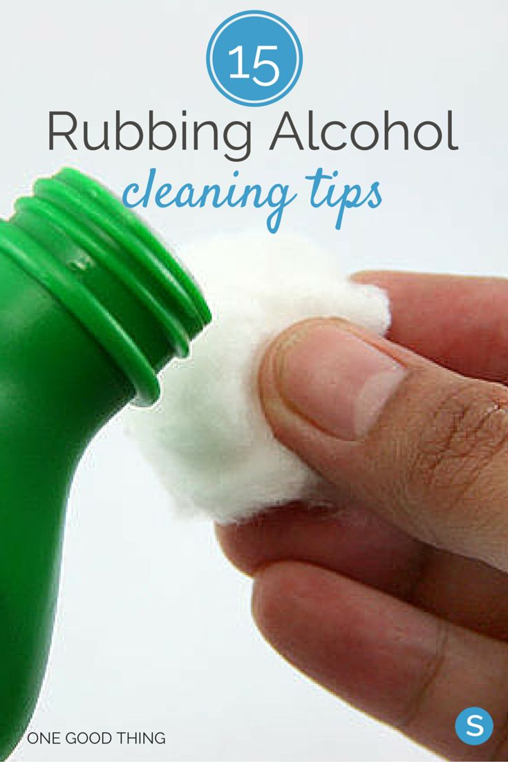 15 life hacks for cleaning with rubbing alcohol. http://simplemost.com/15-ways-rubbing-alcohol-can-used-clean-home?utm_campaign=social-account&utm_source=pinterest.com&utm_medium=organic&utm_content=pin-description