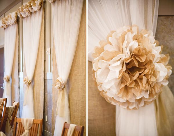 Diy Wall Draping For Weddings That Meet Interesting Decors: 136 Best Images About Tissue Paper Craft Ideas On