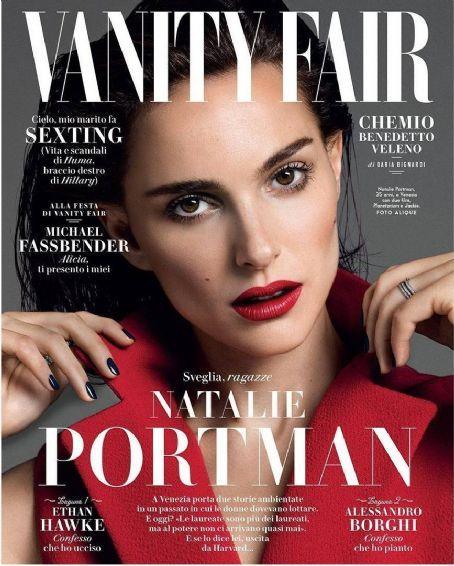 Natalie Portman   Vanity Fair Magazine Cover [Italy] (September 2016)