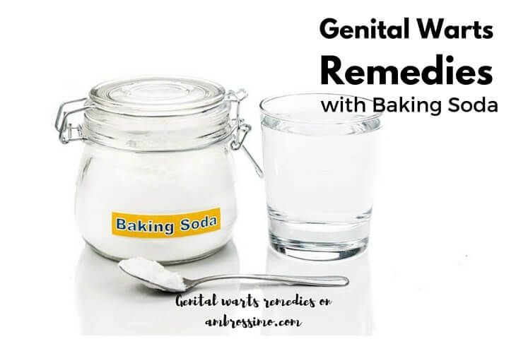 Baking Soda for Genital Warts Removal