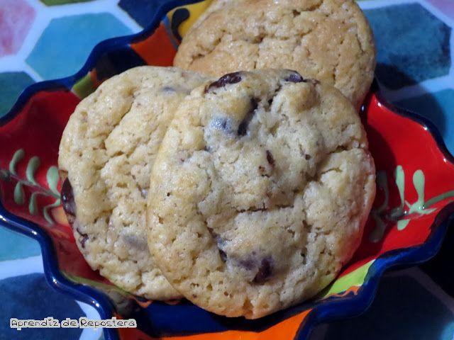 Aprendiz de Repostera: Cookies, la receta definitiva