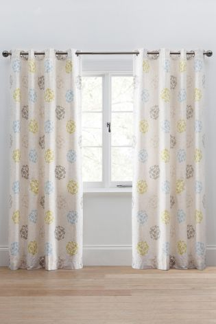 Buy Retro Stem Eyelet Curtains from the Next UK online shop