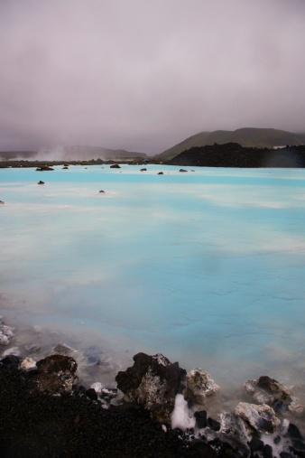 Bathing Lagoon Keflavik Iceland
