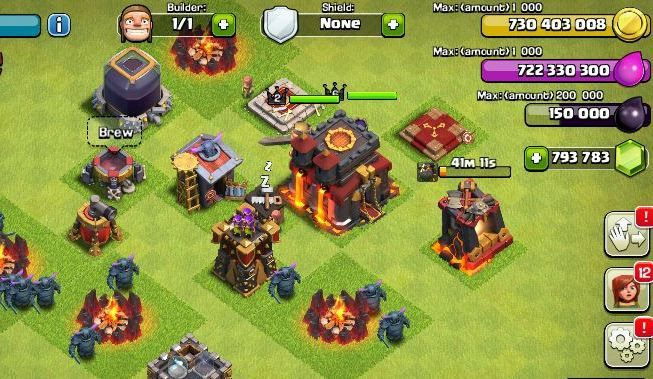 Mod COC Clash Of Clans FHx Private Server Indonesia