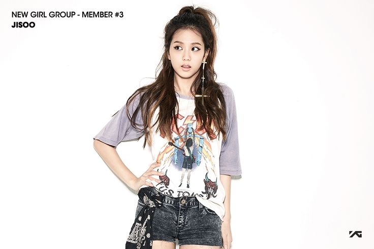 YG Reveals Teasers For New Girl Group Member Jisoo.