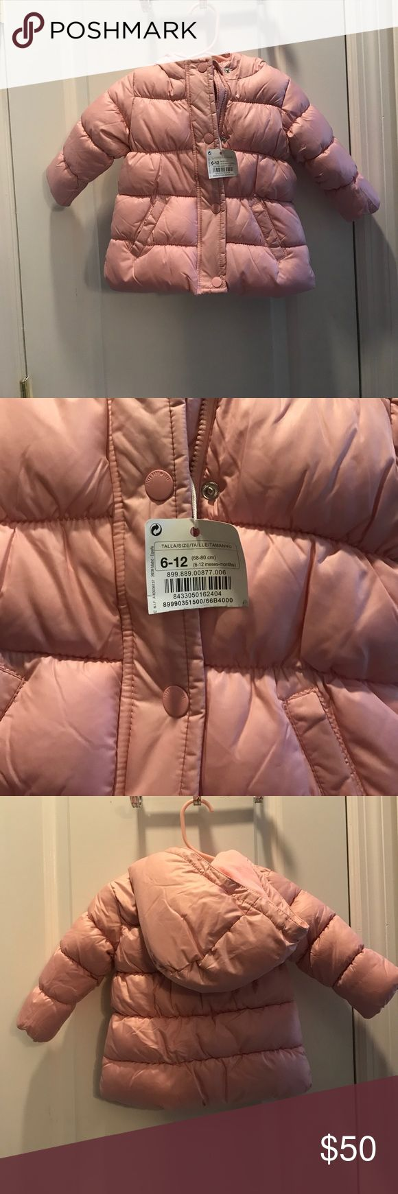 NWT! Baby Girl Jacket Beautiful pink girls jacket! Unfortunately never got a chance to wear it. Bought in Greece Sfera Jackets & Coats Puffers