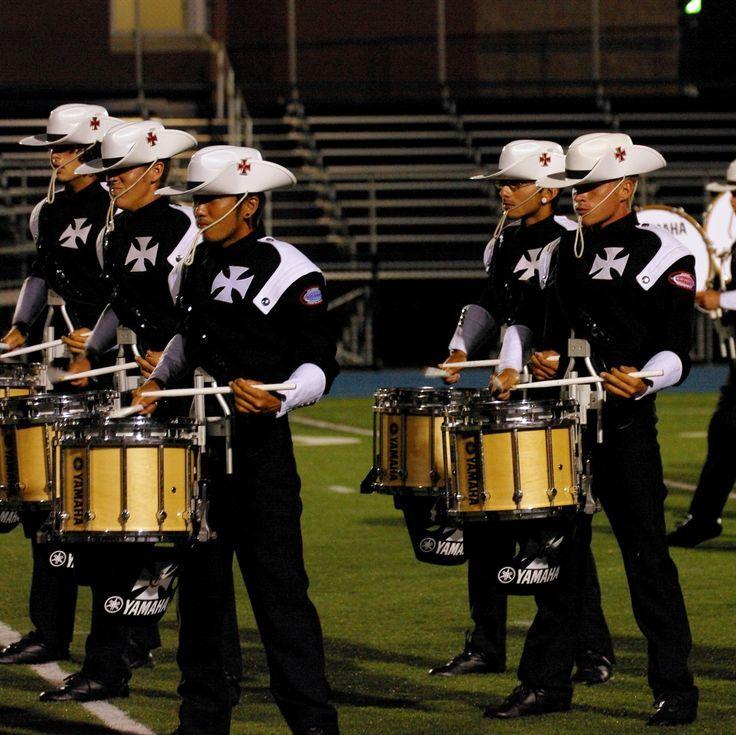 Crossmen drumline - I think this is 2013.