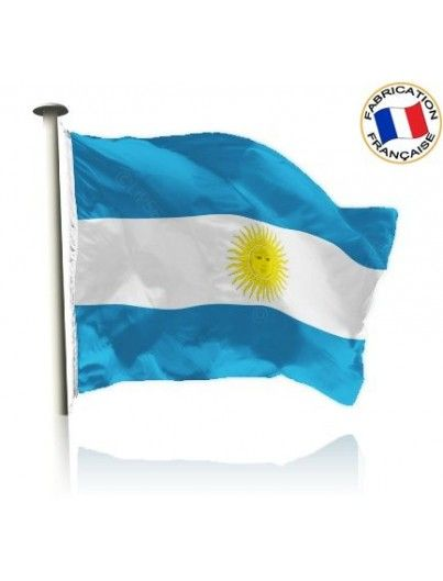 Drapeau Argentine Made In France by Manufêtes