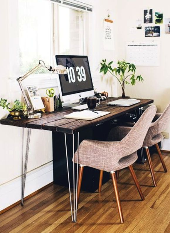 {New blog post} Take a cue from these inspiring spaces and transform your home office into one you'll want to work from. #styleset #homeoffice #design #inspiration #scoutable