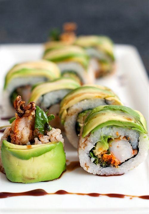 Dragon Roll Sushi