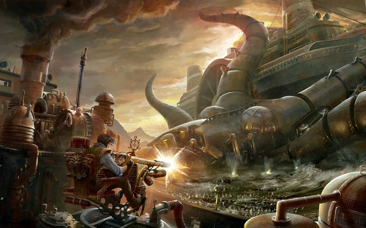 Θεοί του Ατμού: Steampunk οράματα: Τι ζητάμε σαν steampunk διήγημα