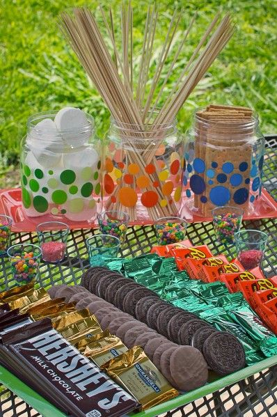 Smores Party Ideas