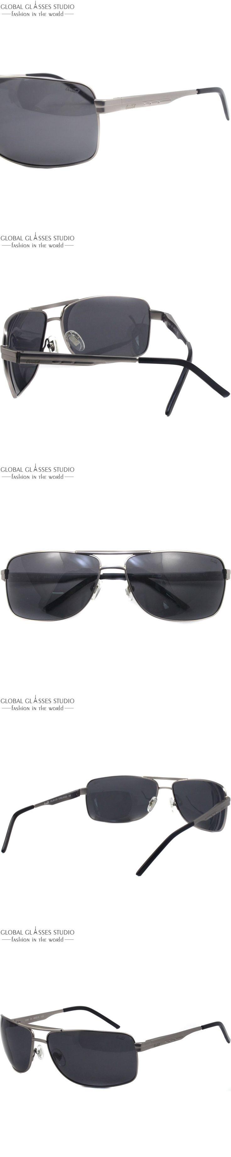 New High Quality Men Stainless Steel Spring Hinge Gray clean lens Sunglasses C200 C3