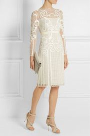 Temperley LondonCatroux embroidered tulle dress