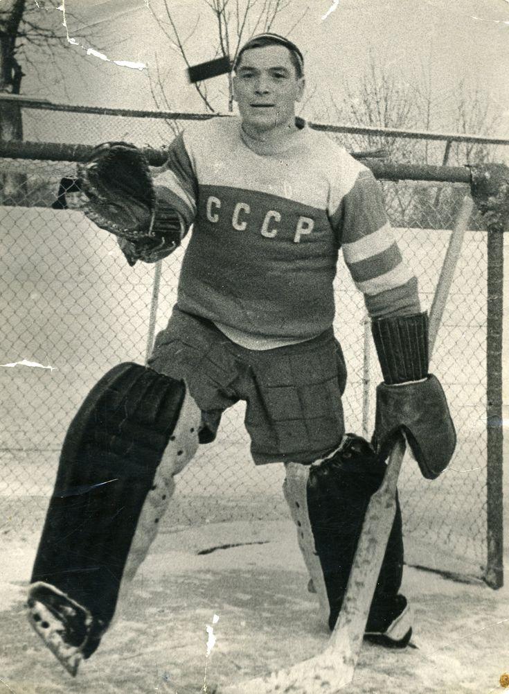 Nikolai Puchkov   USSR Goalie & Gold Medalist - 1956 Olympic Games
