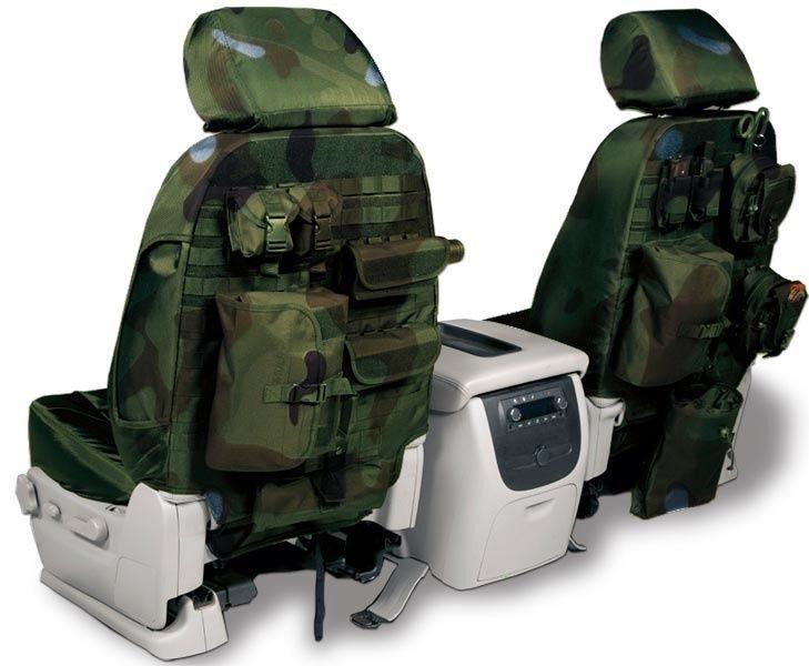 Tactical Backseat Storage