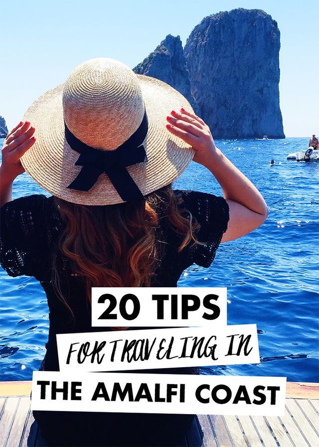 20 Tips for Traveling in the Amalfi Coast | History In High Heels | Bloglovin'