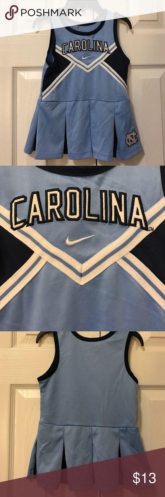 Tiny tots Nike Tar Heel Carolina cheerleader 2t Carolina blue cheerleader dress Nike size 2t Nike Dresses Casual