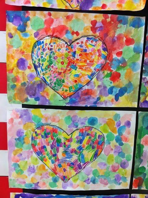 Jim Dine 1st grade hearts