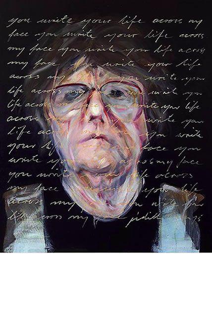 judith mason - You Write your Life across my Face, 1993