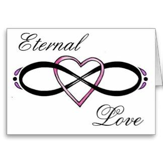 Infinity Love Symbol | Forever Love Infinity Symbol Cards ...