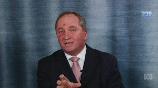 Acting prime minister Barnaby Joyce has been grilled over his history of donations from mining magnate Gina Rinehart, asked what he is expected to provide in return and to explain how it is different to the Sam Dastyari's expenses saga.