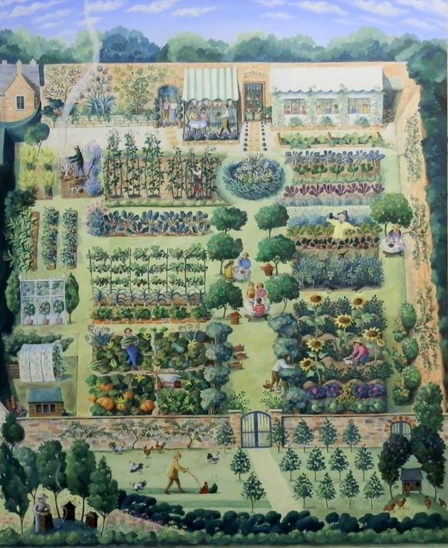 Farm - plan it out, get in as much of the hardscaping and buildings asap while your first few crops are coming on...