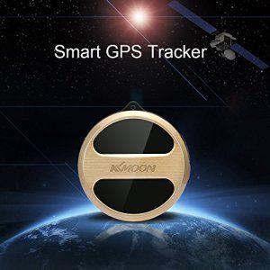 KKmoon Mini GPS GSM Tracker étanche SMS iOS Andriod APP Moniteur audio SOS appels d'urgence système d'alarme de posionnement pour voiture…