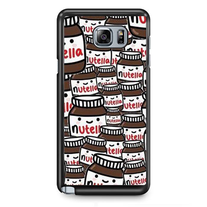 Nutella Collage TATUM-8049 Samsung Phonecase Cover Samsung Galaxy Note 2 Note 3 Note 4 Note 5 Note Edge