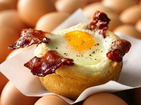 @Jennifer Duncan bacon and egg cupcakes!