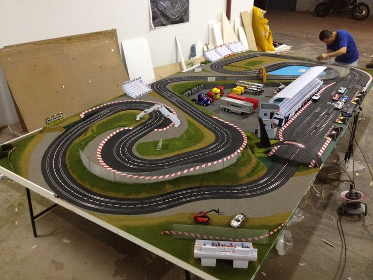 1000 images about slot car tracks   scenery on pinterest