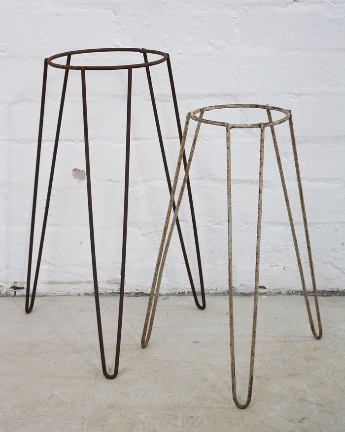 17 best images about plant stand on pinterest mid century plant stands and red houses - Flower pot stands metal ...