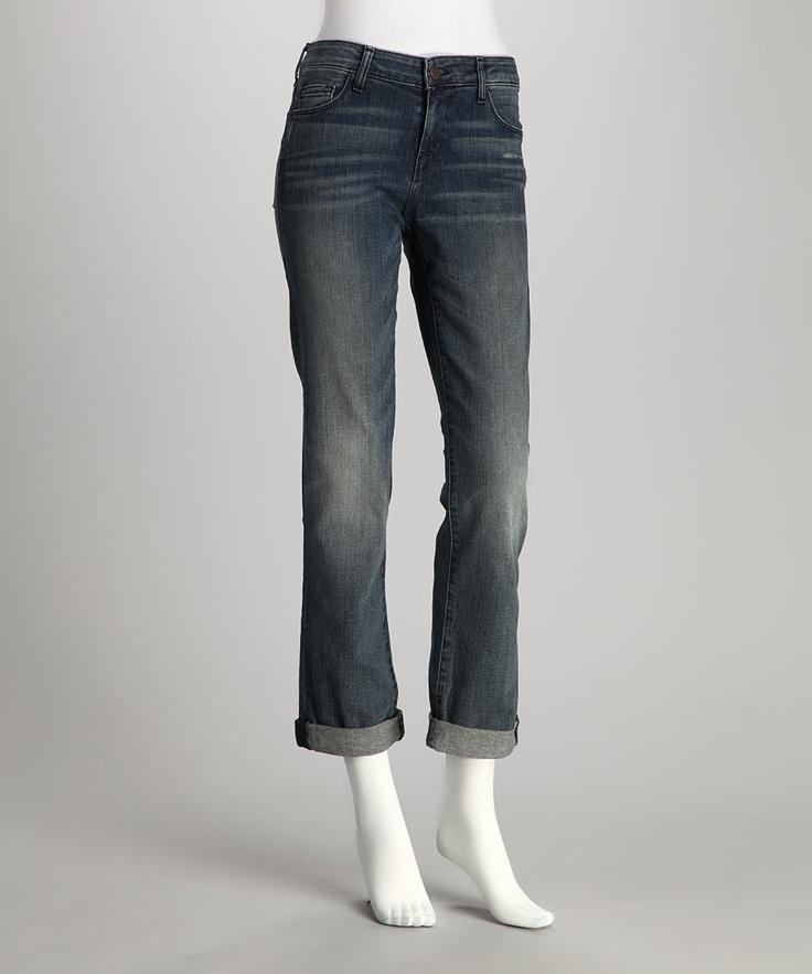 Moon Zappa Weekender Boyfriend Jeans