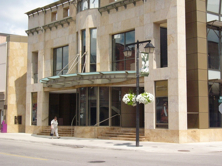 Avon Theatre in Stratford, Canada- seen many a play here! Thanks Aunt Wendy!