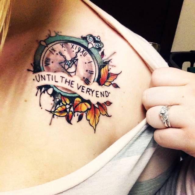 20 incredible tattoos inspired by books