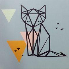 renard géométrique atelier enfant savoir et créer caen