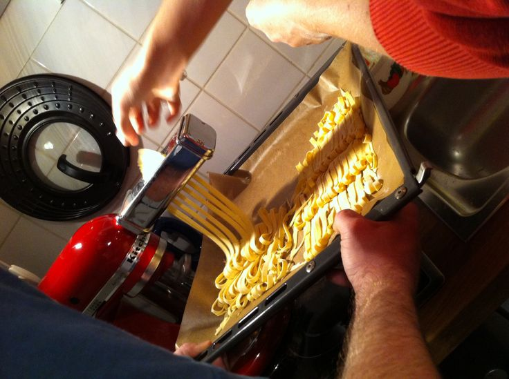 Pasta-Herstellung #kitchenaid