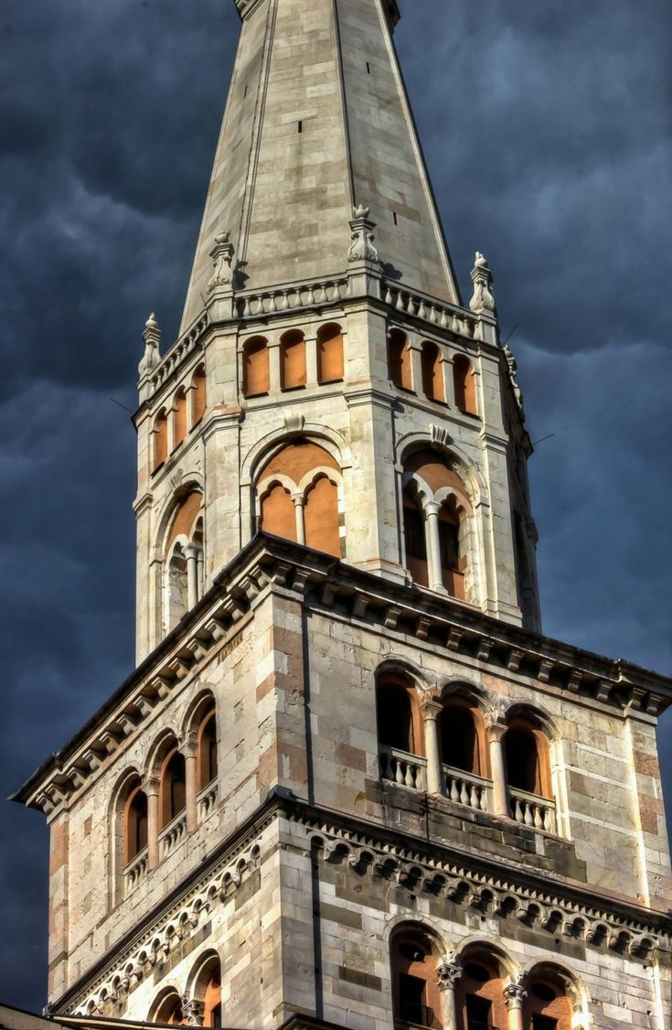 "Modena Ghirlandina Tower - ""Modena, Unesco World Heritage Site where beauty is set in stone"" by @1step2theleft"