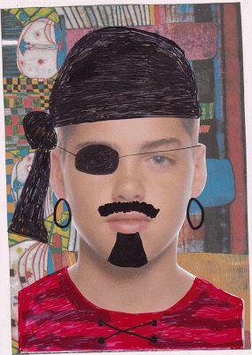 PLÁSTICA EN EL VALLE: Retratos GIF con HUNDERTWASSER