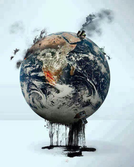 одна картинки умирающей планеты очень
