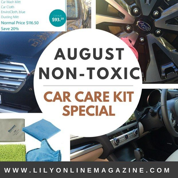 Visit www.lilyonlinemagazine.com to read our latest story on non-toxic car care. It's just another area of your #life where you can still maintain a #stylish #lifestyle whilst reducing your #families exposure to #toxic #chemicals. Go to the 'Life, #Style and #Beauty' articles and find our great #non-toxic #car #care kit #special, this month only! #automotive #carlovers #carcare #design #outdoors #leather #speed #rev m. Info provided by Norwex Independent Consultant-Priscilla Green
